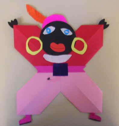 Gevouwen Piet