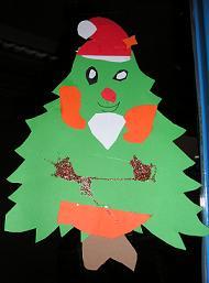 Kerstboom kerstman