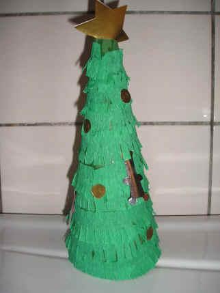 Kegel kerstboom