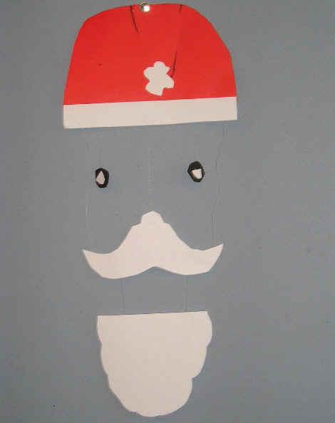 Kerstman mobile
