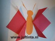Vlinder vouwen stap 3