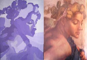 Schilderij overschilderen