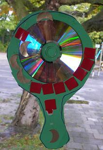 Spiegel van cd