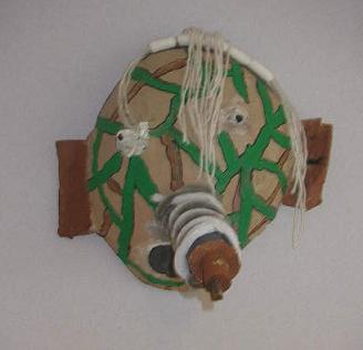 Masker van kosteloos materiaal 2