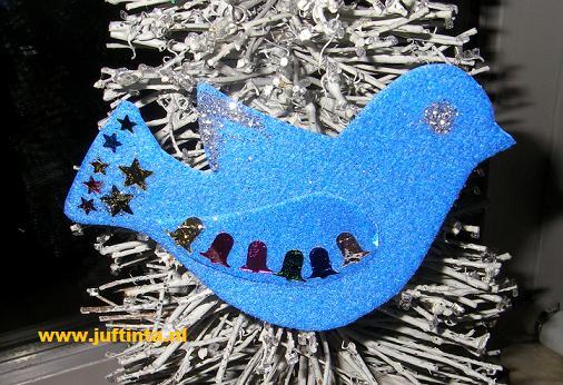 Vogeltje voor in de kerstboom