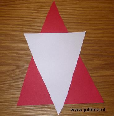 kerstman driehoek 1