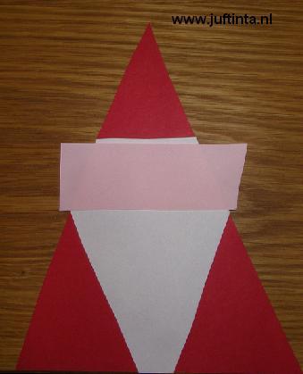 kerstman driehoek 2