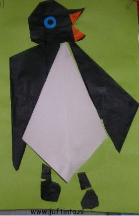 pinguinvouwen