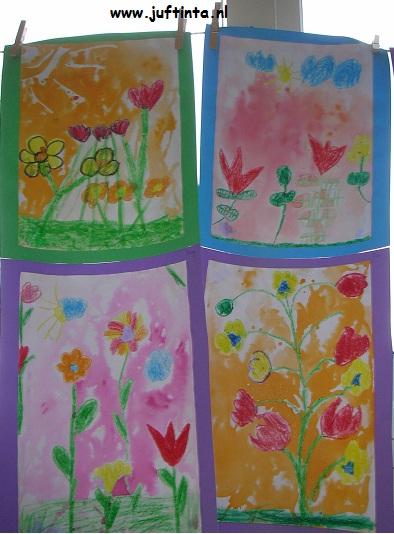 bloemen van wasco en ecoline meerdere