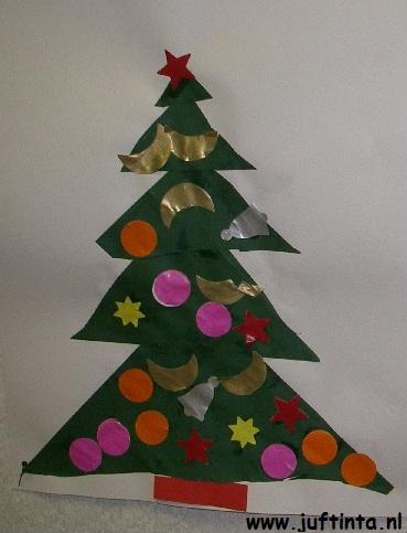 kerstboom driehoeken