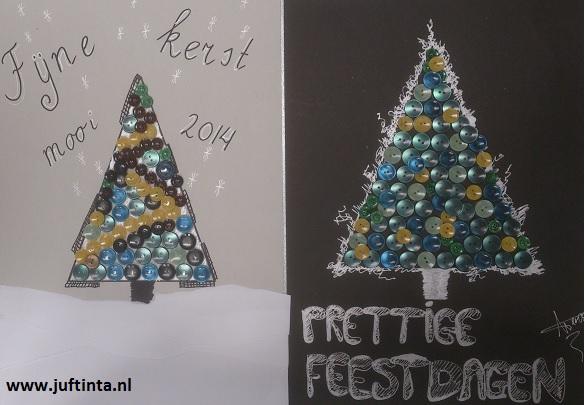 Kerstboom met knopen - Knutselen!: www.juftinta.nl/kerstmis-knutselen/knutsels-kerstboom-met-knopen...