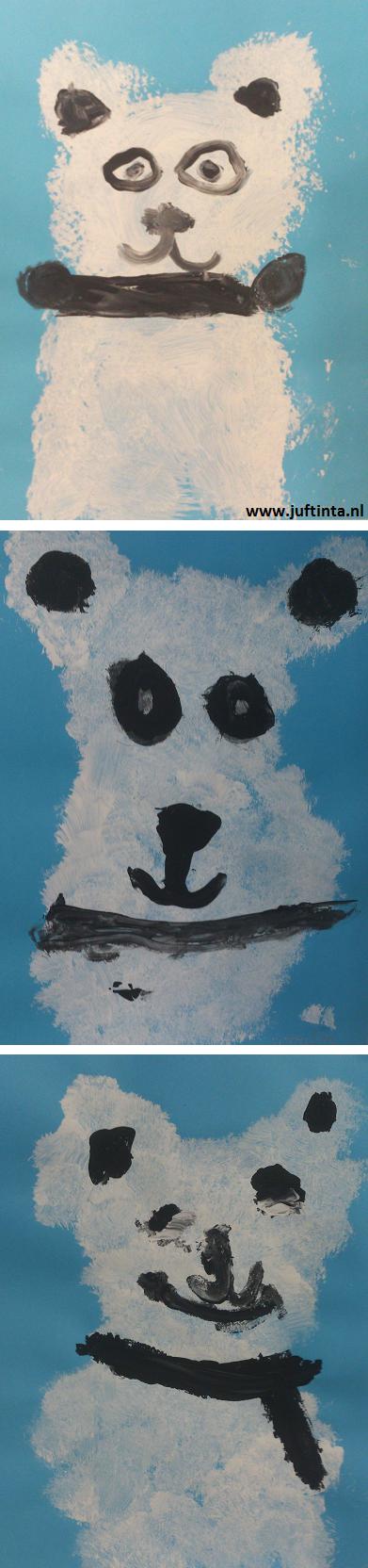 ijsbeer stempelen