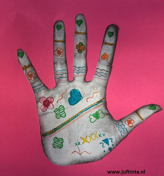 Henna tekening