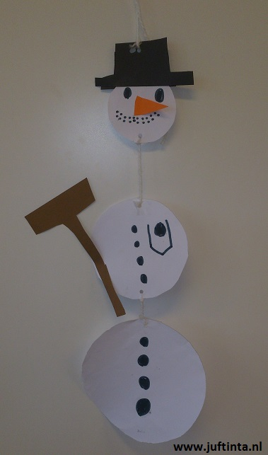 sneeuwpop 3 rondjes