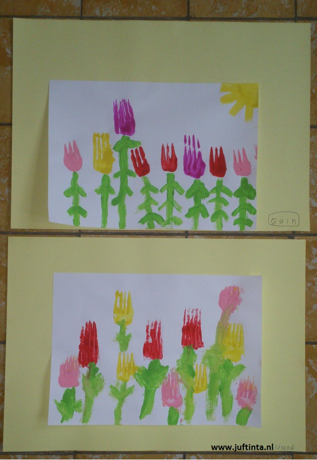 tulpen schilderen